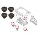 Tulejka gumowa pokrywy plastykowej-osłony górnej silnika Audi...,Seat...,Skoda Fabia II,Octavia II,Superb II,VW..