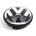 Dekielek,zaślepka okrągła 65mm ze znaczkiem-emblematem LOGO,kołpak ozdobny felgi aluminiowej VW....