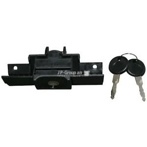 Zamek KPL z kluczykami klapy tylnej pokrywy bagażnika VW Jetta II 84-91r