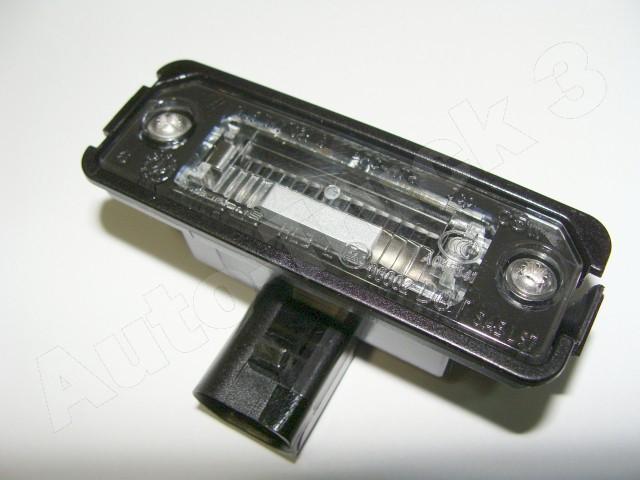 Lampka Oświetlenia Tylnej Tablicy Rejestracyjnej Z Tyłu Vw