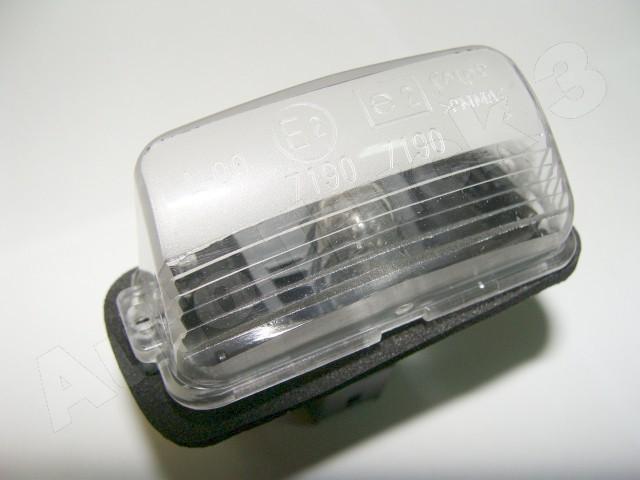 Lampka Oświetlenia Tablicy Rejestracyjnej Citroen Berlingo