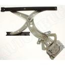 Podnośnik manualny-mechanizm podnoszenia i opuszczania szyby przedniej drzwi lewych VW Passat B4