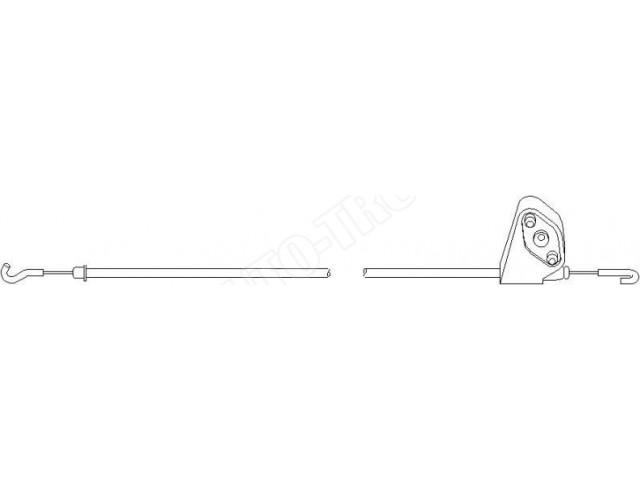 Linka Cigno Zamka Drzwi Przednich Lewa Audi 80 87 94r