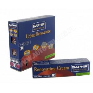 Krem do renowacji tapicerki ze skóry z pigmentem 25ml - Renovating Cream SAPHIR