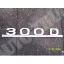 Emblemat, napis na tylna klape 300D, Mercedes
