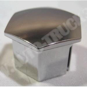 Kapsel plastykowy,nakładka chromowana,kapturek,zaślepka śruby koła felgi aluminiowej PSA: Citroen...,Peugeot....