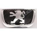 Emblemat,logo LEW, znaczek atrapy przedniej Peugeot 407