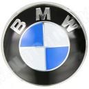 Emblemat - logo BMW, kółko (śr.83mm) znaczek przedni BMW 3/5/7