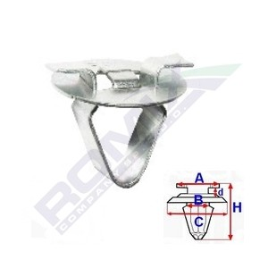 Spinka słupków wewnętrznych i tapicerki Citroen C5,Opel Astra,Calibra,Corsa,Omega,Vectra,Signum,Tigra,Zafira,Peugeot 407