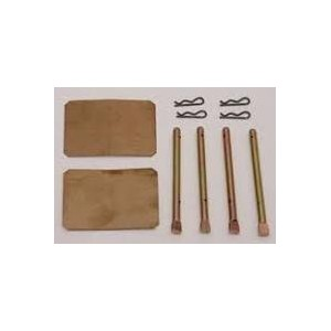 Zestaw montażowy klocków hamulcowych przednich kół Skoda 105/120/130