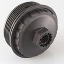 Górna pokrywa-nakrętka-korek obudowy filtra oleju Ford...,Opel...,Renault