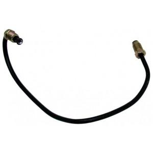 Przewód hamulcowy-rurka metalowa łącząca zacisk hamulcowy LEWY przedniego koła SKODA 105,120,130